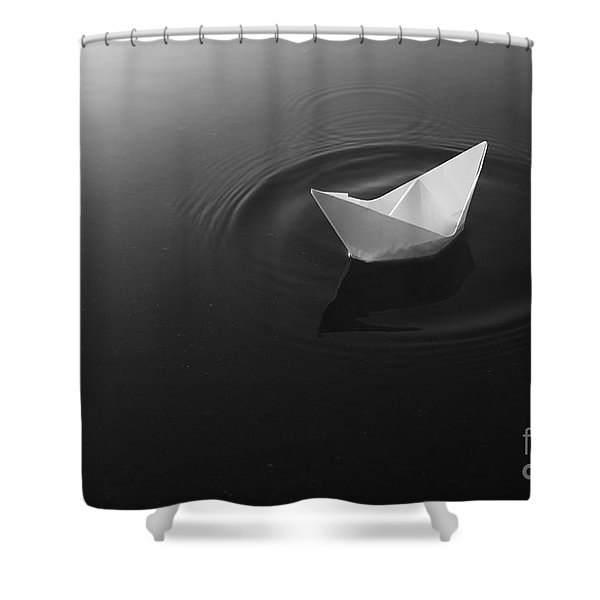 To Start The Odyssey Shower Curtain