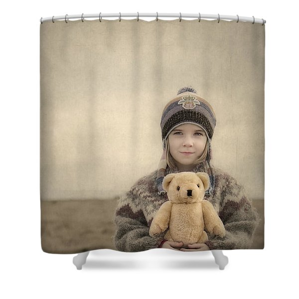 Together They Dream Into The Evening Shower Curtain