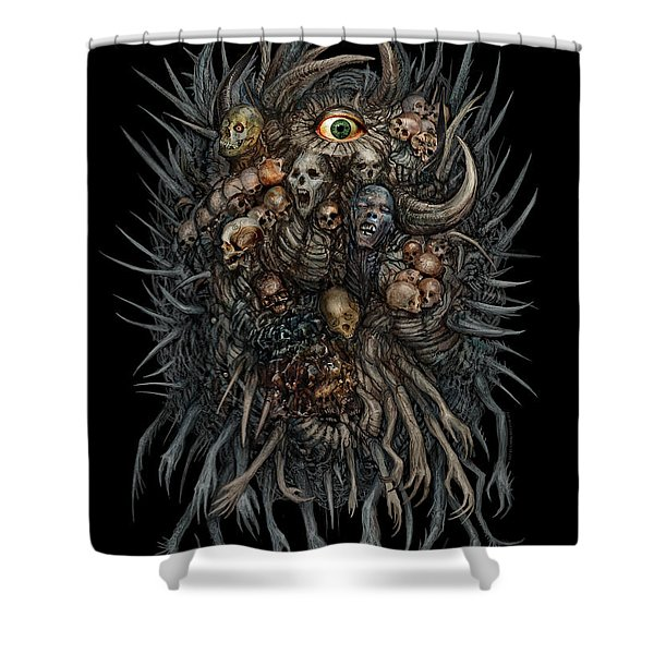 Together We Decay Shower Curtain