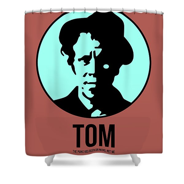 Tom Poster 2 Shower Curtain
