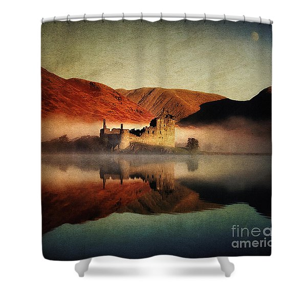 Tomorrow's Past Shower Curtain