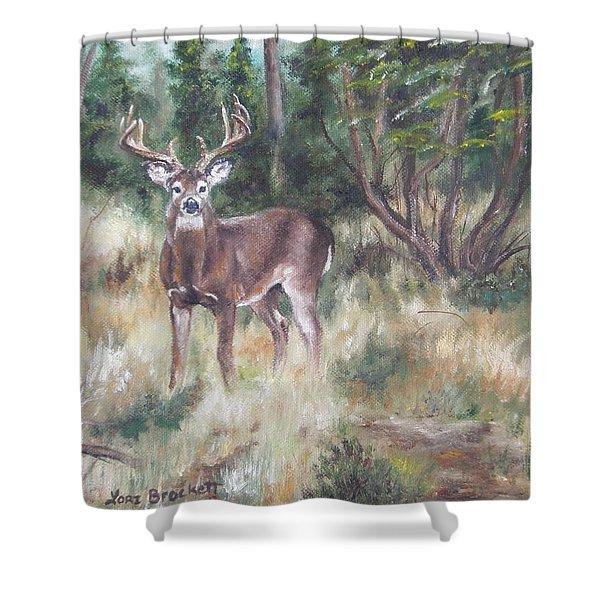 Too Tempting Shower Curtain