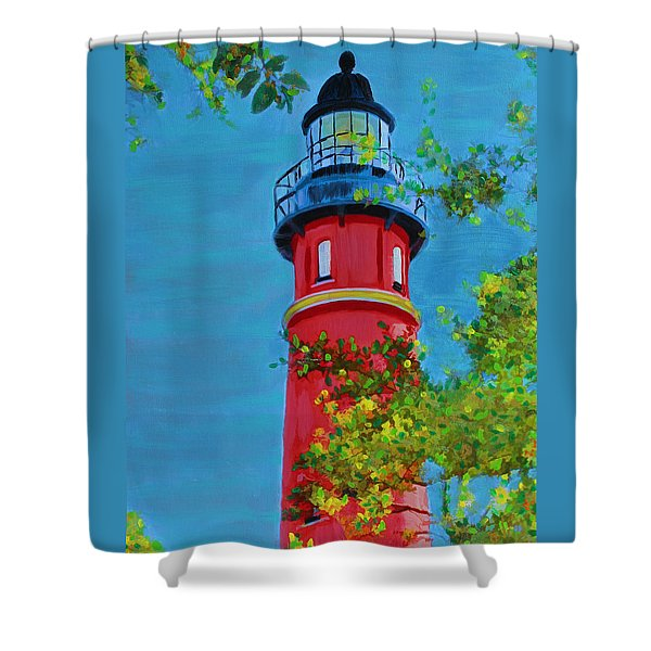 Top Of The House Shower Curtain