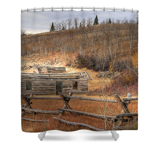 Topless Shower Curtain