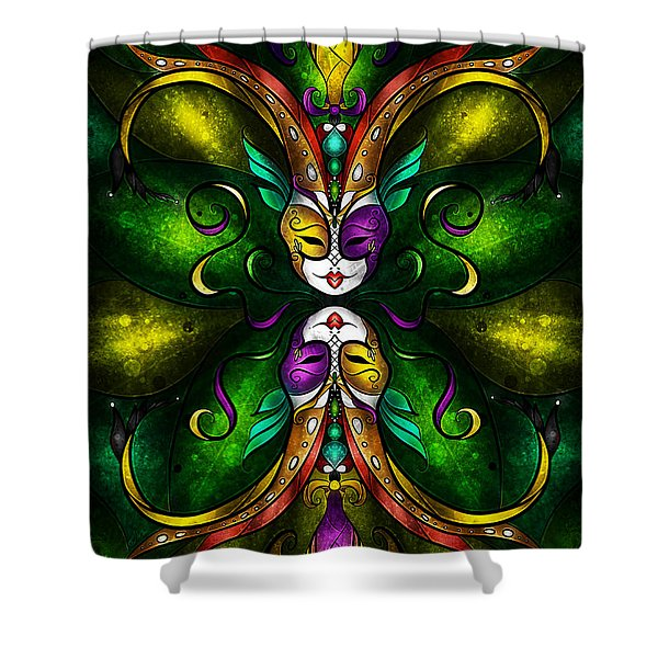 Topsy Turvy Shower Curtain