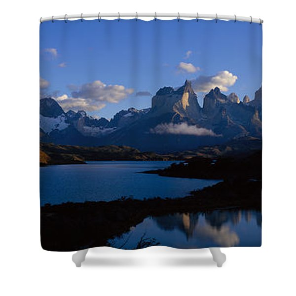 Torres Del Paine, Patagonia, Chile Shower Curtain