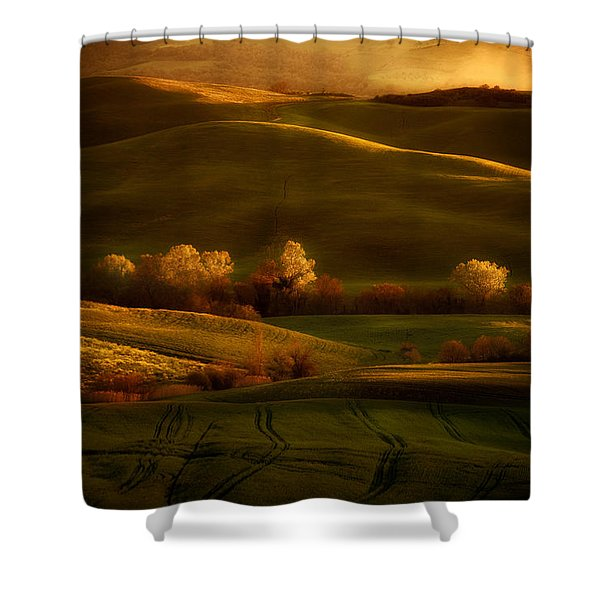 Shower Curtain featuring the photograph Toskany Impression by Jaroslaw Blaminsky