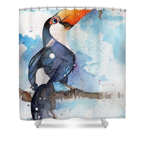 Toucan Sam Shower Curtain