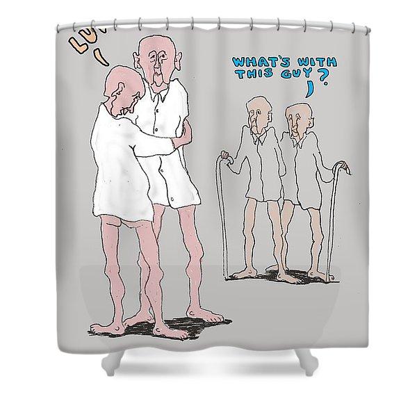 Touchy Feely Shower Curtain