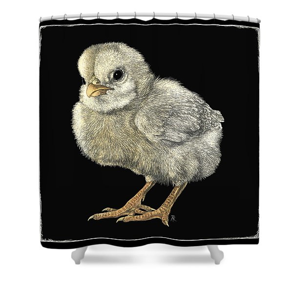 Tough Chick Shower Curtain