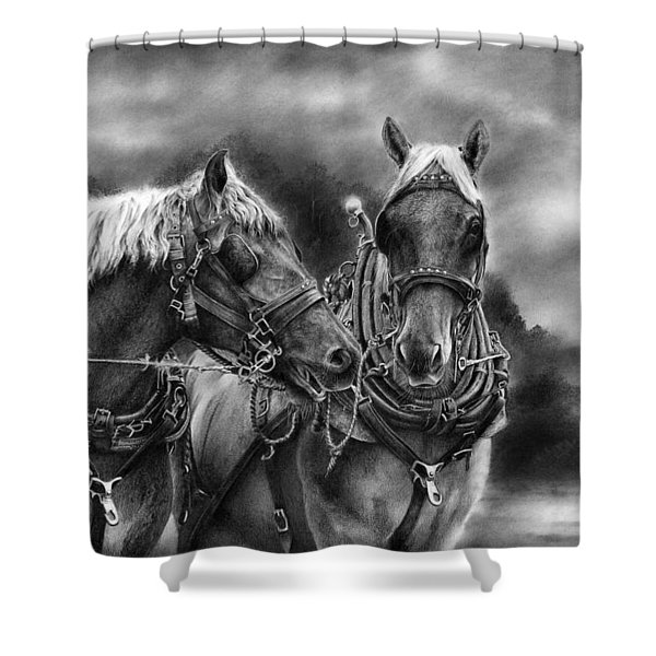 Tough Guys Shower Curtain