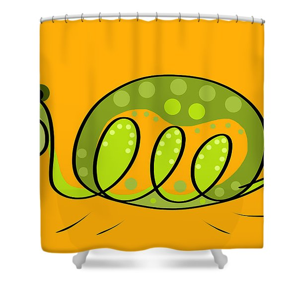 Thoughts And Colors Series Turtle Shower Curtain