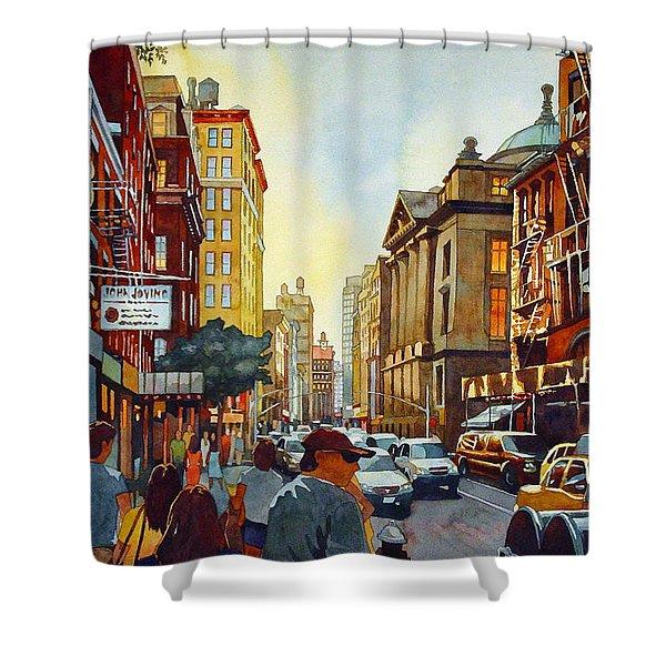 Tourist Season Shower Curtain