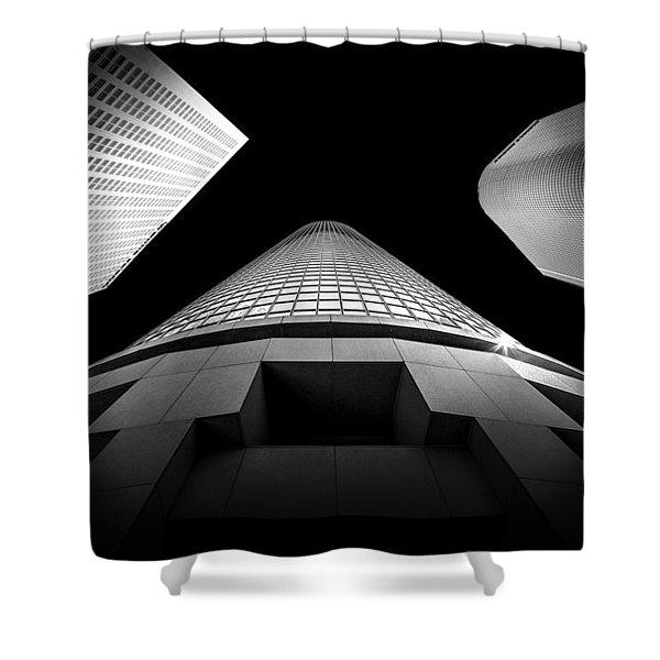 Tower Wars 3 Shower Curtain
