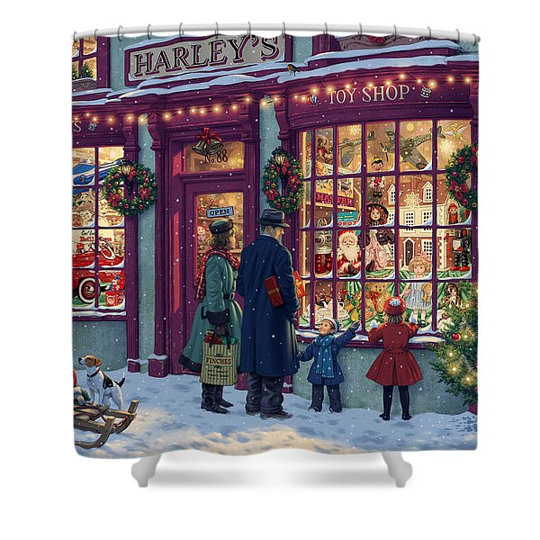 Toy Shop Variant 2 Shower Curtain