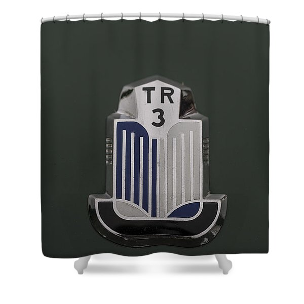 Tr3 Hood Ornament 2 Shower Curtain