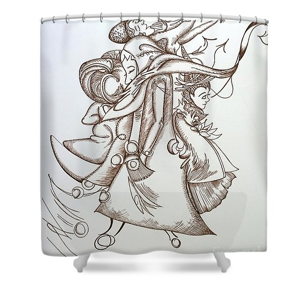 Music At The Station Shower Curtain