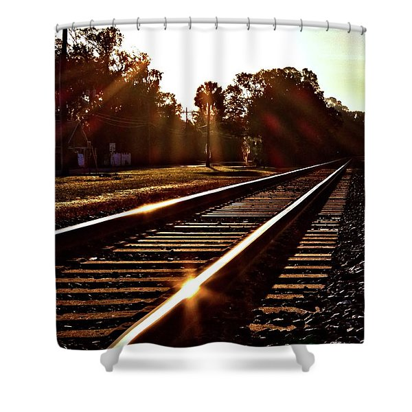 Traintastic Shower Curtain
