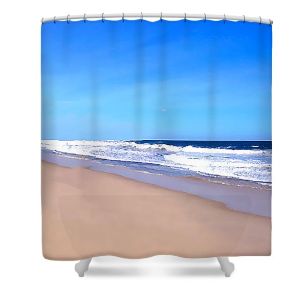 Tranquility II By David Pucciarelli  Shower Curtain