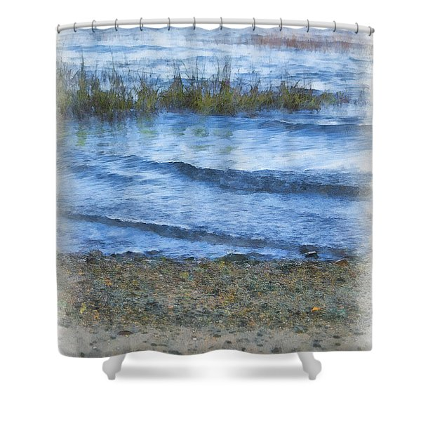 Tranquility Base Shower Curtain