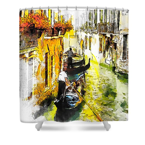 Tranquillity Shower Curtain