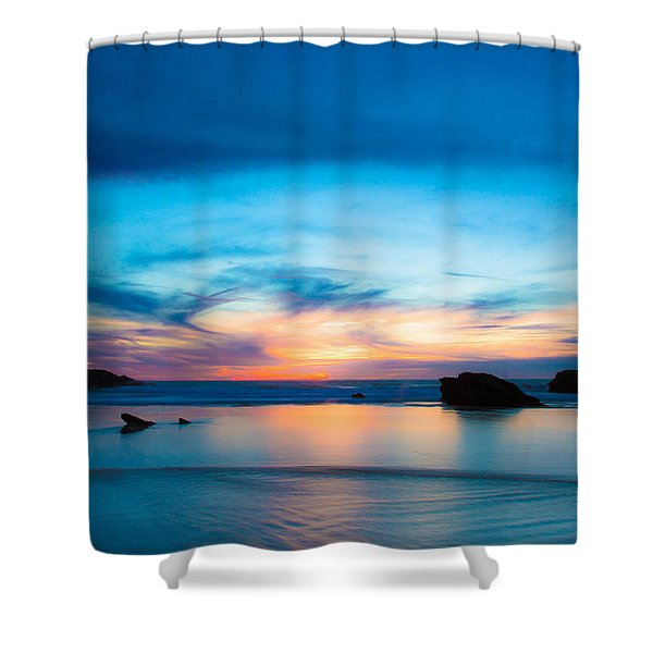 Traveling The Infinite Shower Curtain