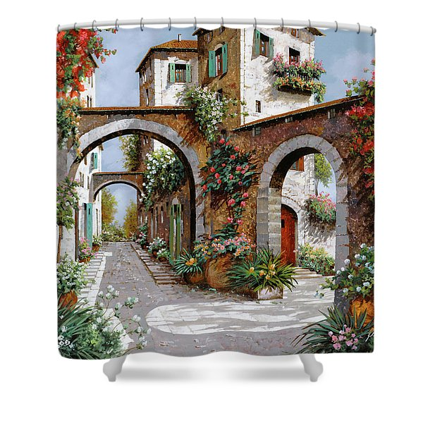 Tre Archi Shower Curtain