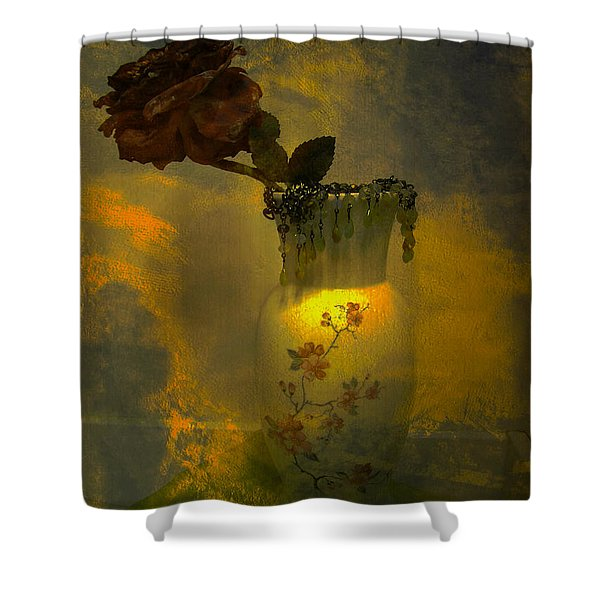Treasures In A Vase Shower Curtain