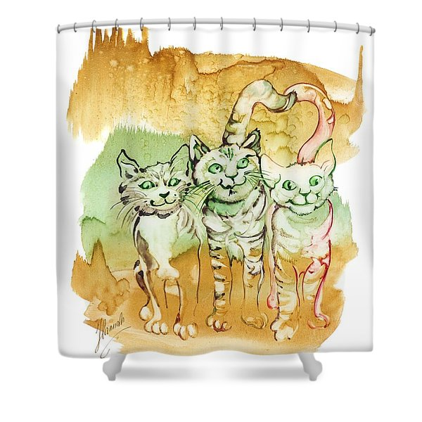 Tree Brothers  Shower Curtain