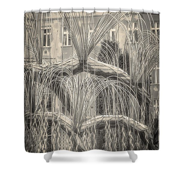Tree Of Life Dohany Street Synagogue Shower Curtain