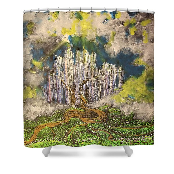 Tree Of Souls Shower Curtain
