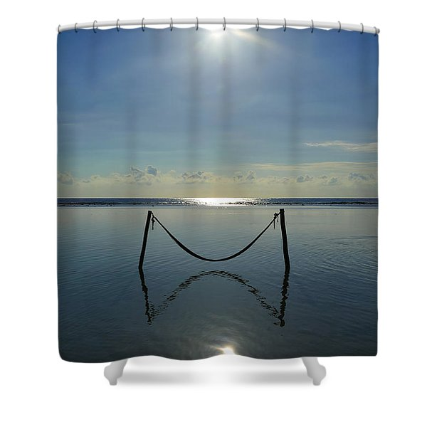 Tres Luces Shower Curtain