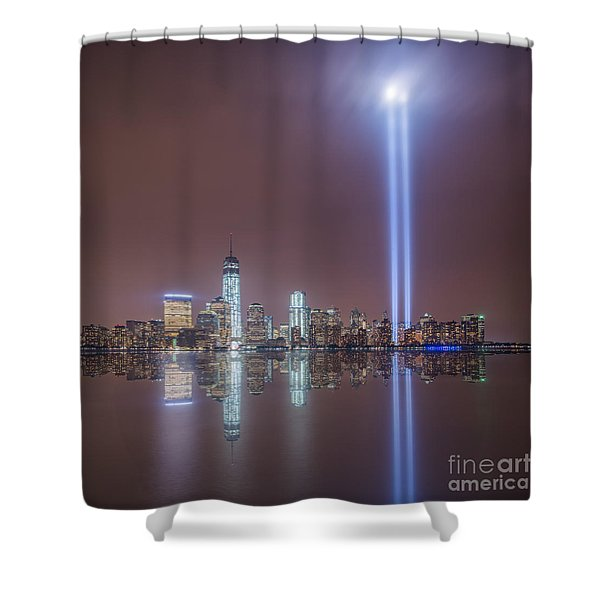 Tribute In Light Shower Curtain