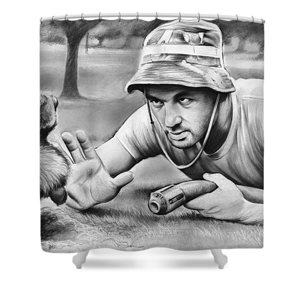 Tribute To Caddyshack Shower Curtain