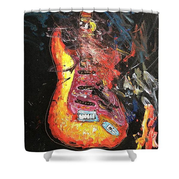 tribute to the Beat Farmers Shower Curtain
