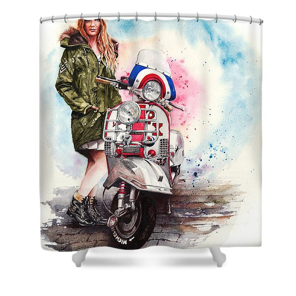 Tricked Out Shower Curtain