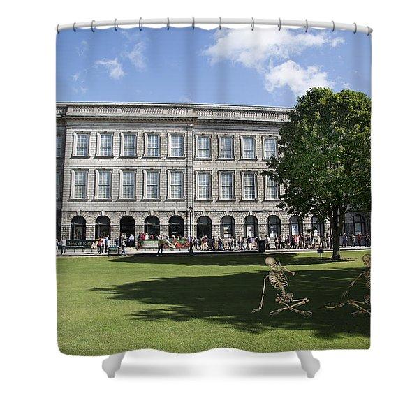 Trinity College Shadows Shower Curtain