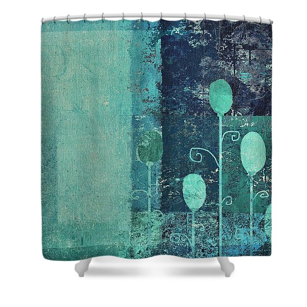 Triploflo - 15at02 Shower Curtain