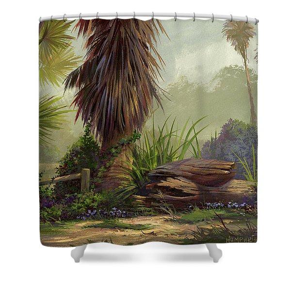 Tropical Blend Shower Curtain