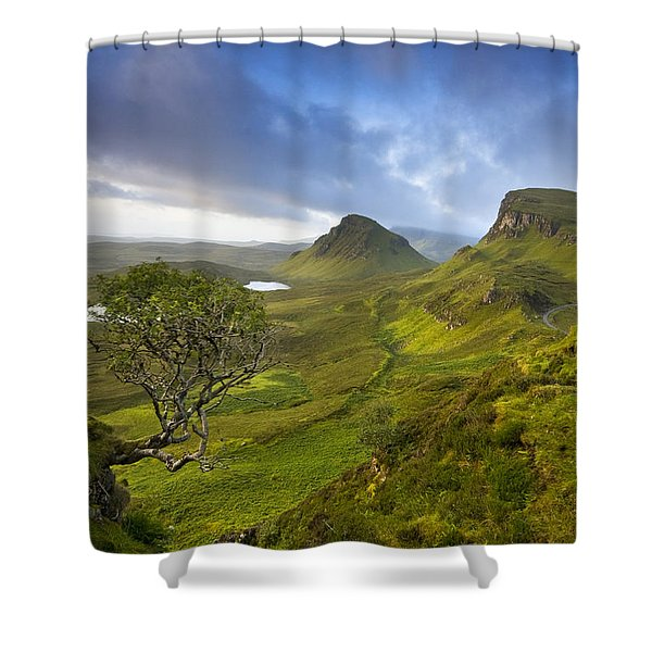 Trotternish Ridge Shower Curtain