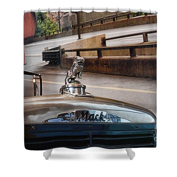 Truck - The Mack Bulldog Shower Curtain