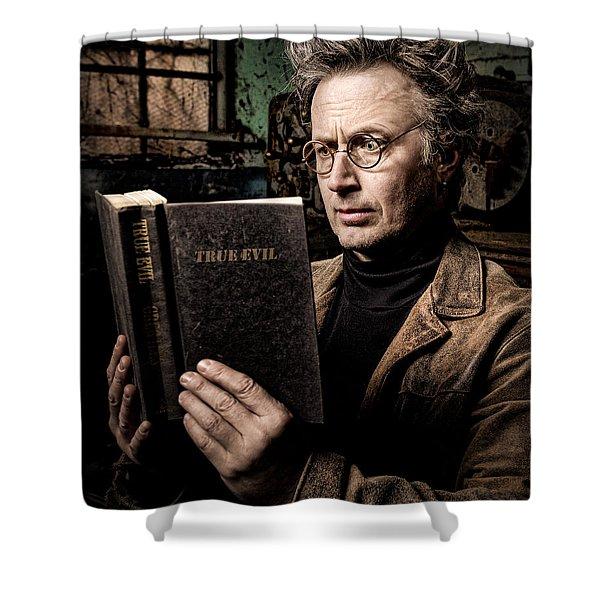 True Evil - Science Fiction - Horror Shower Curtain