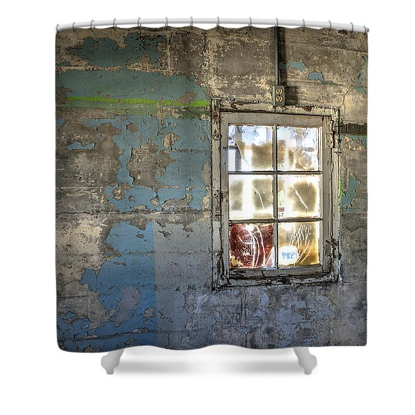 Trustee-3 Shower Curtain