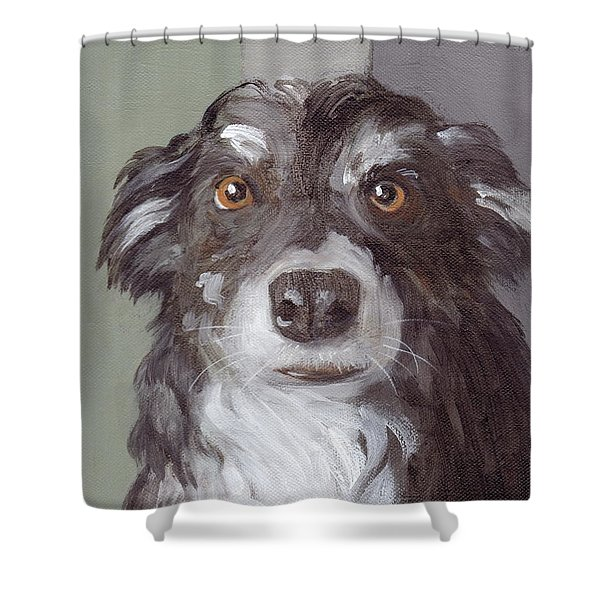 Trusting Eyes Shower Curtain