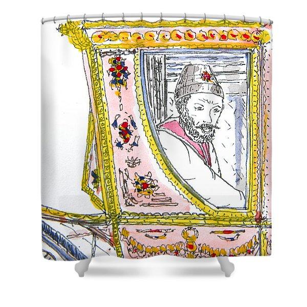 Tsar In Carriage Shower Curtain