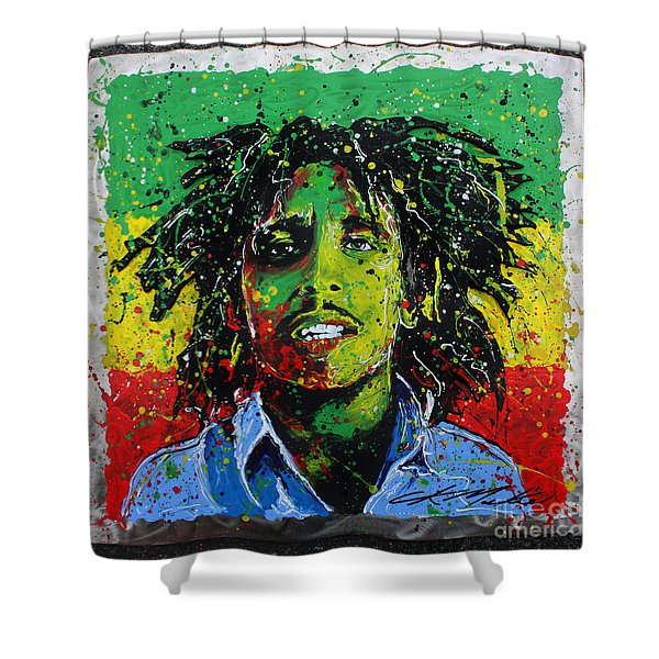 Tuff Gong Shower Curtain