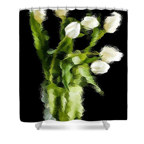 Tulip Impressions Vii Shower Curtain