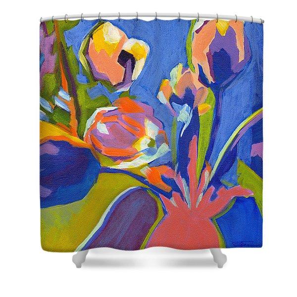 Tulip Variations  Shower Curtain
