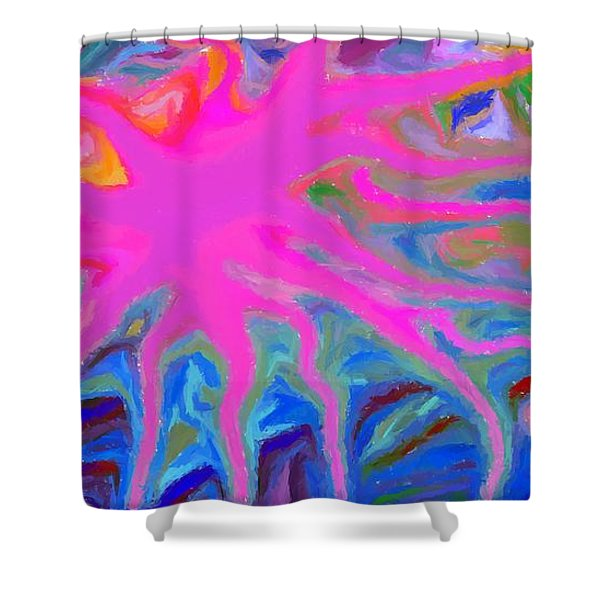 Tumor Shower Curtain