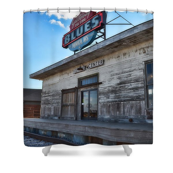 Tunica Gateway To The Blues Shower Curtain
